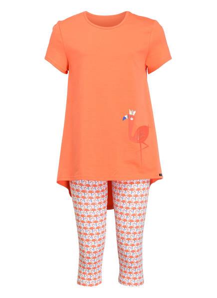 Skiny Schlafanzug COSY NIGHT, Farbe: KORALLE (Bild 1)