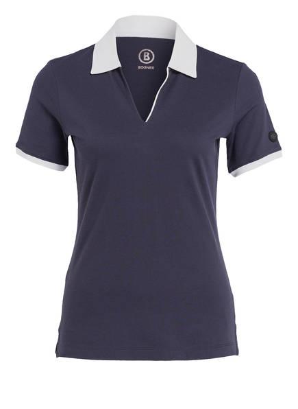 BOGNER Piqué-Poloshirt LUMI2, Farbe: BLAU (Bild 1)