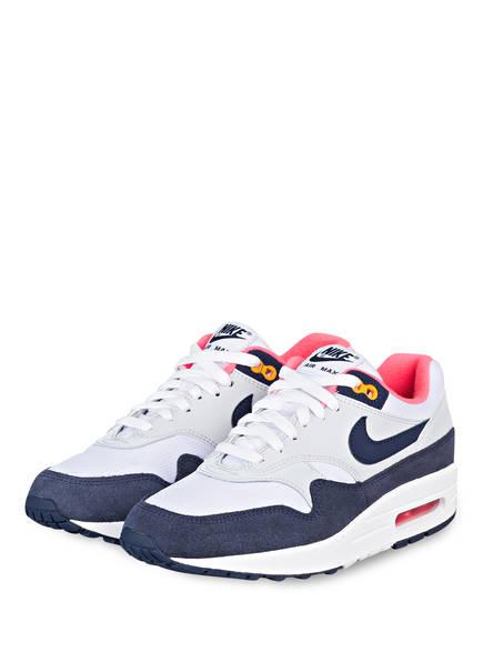 Nike Sneaker AIR MAX 1, Farbe: WEISS/ BLAU (Bild 1)