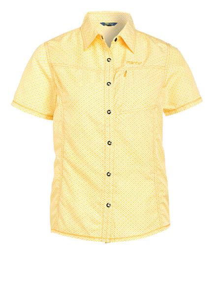 me°ru' Outdoor-Bluse MELISSIA, Farbe: GELB (Bild 1)