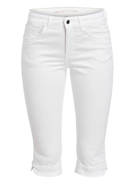MAC Jeans-Shorts DREAM CAPRI, Farbe: WHITE DENIM (Bild 1)
