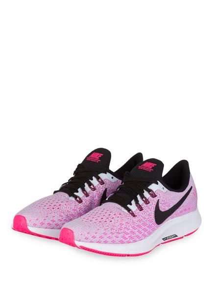 Nike Laufschuhe AIR ZOOM PEGASUS 35, Farbe: PINK/ WEISS (Bild 1)