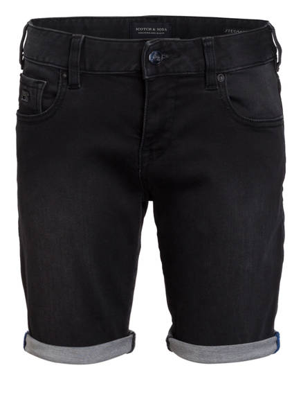 SCOTCH SHRUNK Jeans-Shorts STRUMMER, Farbe: SCHWARZ (Bild 1)
