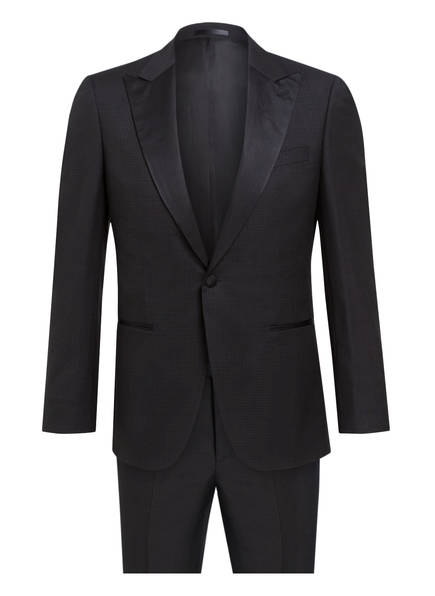 BOSS Smoking T-HARDON/GLORE Tailored Fit, Farbe: 001 SCHWARZ (Bild 1)