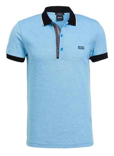BOSS Piqué-Poloshirt PAULE Slim Fit, Farbe: HELLBLAU (Bild 1)