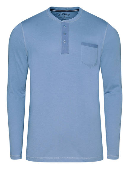 JOCKEY Schlafshirt, Farbe: MITTELBLAU (Bild 1)