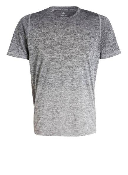 adidas T-Shirt FREELIFT 360 GRADIANT GRAPHIC, Farbe: GRAU MELIERT (Bild 1)