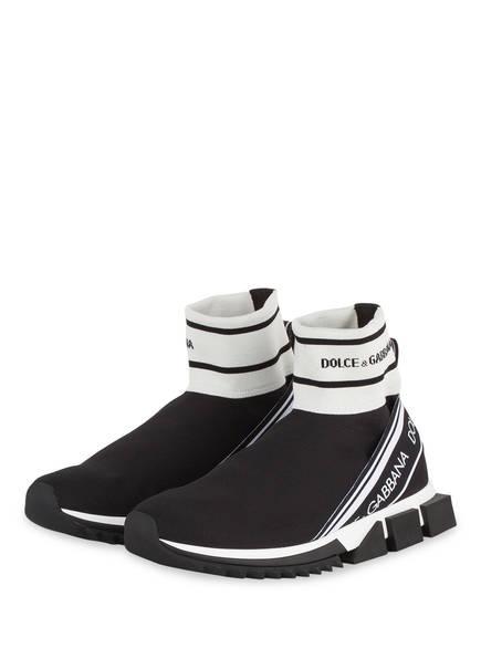 DOLCE&GABBANA Hightop-Sneaker SORRENTO, Farbe: SCHWARZ (Bild 1)