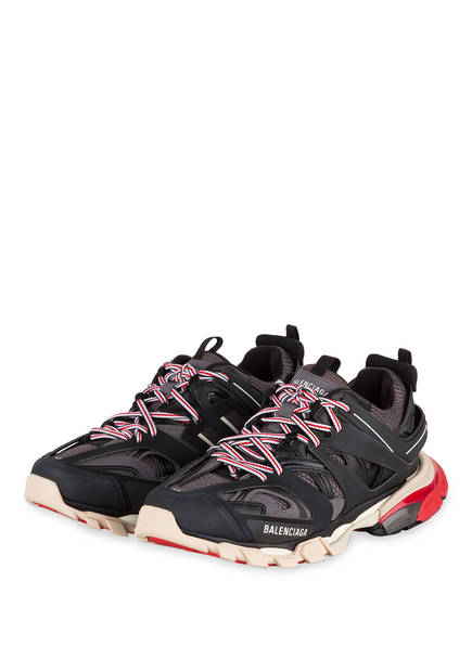 BALENCIAGA Sneaker TRACK , Farbe: SCHWARZ/ GRAU/ ROT (Bild 1)