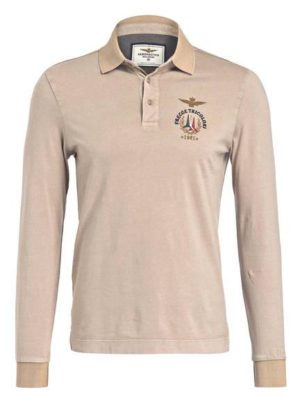 AERONAUTICA MILITARE Poloshirt, Farbe: BEIGE (Bild 1)