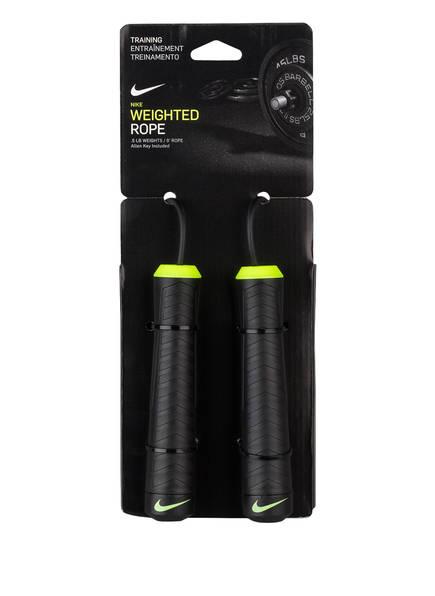 Nike Springseil WEIGHTED ROPE, Farbe: SCHWARZ (Bild 1)
