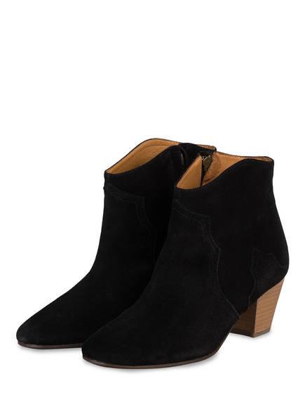 ISABEL MARANT Ankle Boots DICKER, Farbe: SCHWARZ (Bild 1)