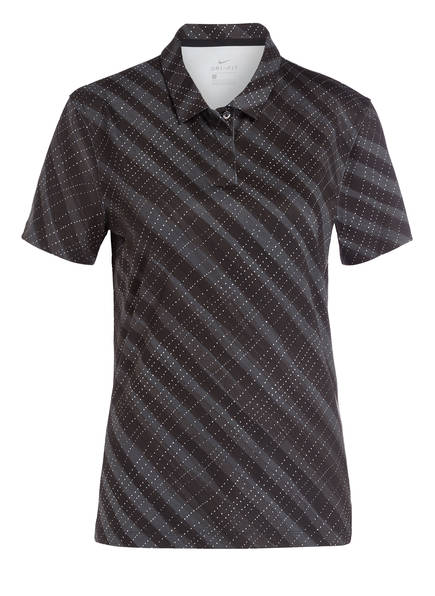 Nike Funktions-Poloshirt DRI-FIT mit UV-Schutz, Farbe: SCHWARZ/ WEISS (Bild 1)