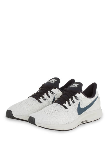 Nike Laufschuhe AIR ZOOM PEGASUS 35, Farbe: CREME/ NAVY (Bild 1)