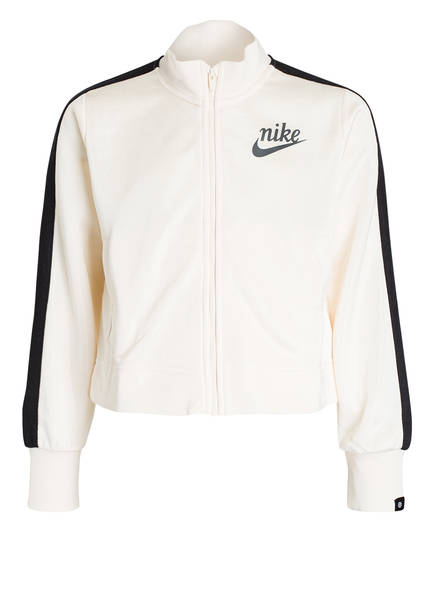 Nike Sweatjacke, Farbe: ECRU/ SCHWARZ (Bild 1)