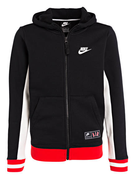 Nike Sweatjacke AIR, Farbe: SCHWARZ (Bild 1)
