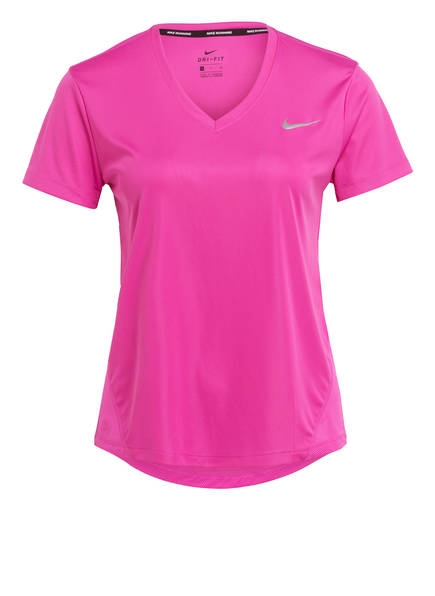 Nike Laufshirt MILER, Farbe: PINK (Bild 1)