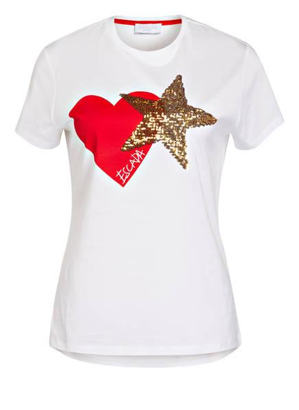 ESCADA SPORT T-Shirt EDALICA, Farbe: WEISS (Bild 1)