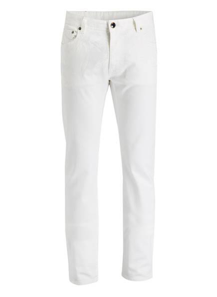 ETRO Jeans mit Leinenanteil, Farbe: WEISS (Bild 1)