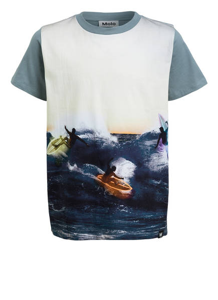 molo T-Shirt, Farbe: BLAUGRAU/ CREME (Bild 1)