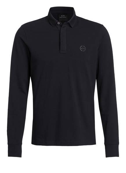 ARMANI EXCHANGE Piqué-Poloshirt, Farbe: NAVY (Bild 1)