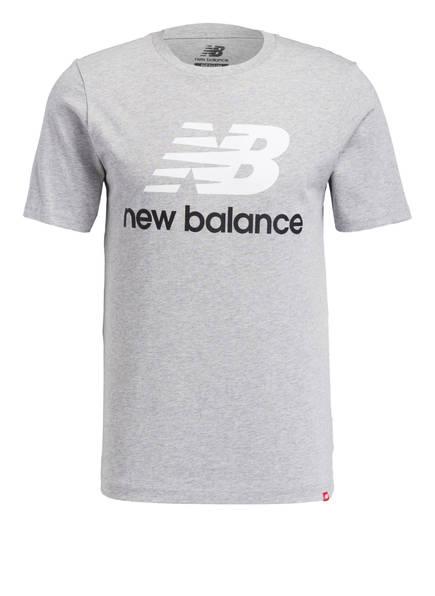 new balance T-Shirt ESSENTIALS, Farbe: GRAU MELIERT (Bild 1)