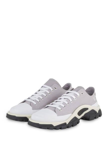 adidas by RAF SIMONS Sneaker DETROIT RUNNER, Farbe: GRAU/ WEISS (Bild 1)