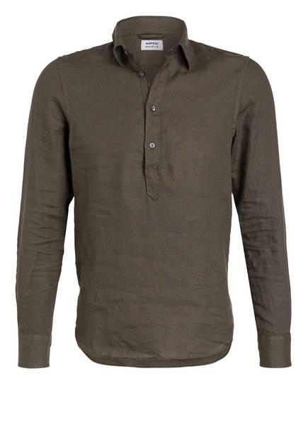ASPESI Leinenhemd CHIUSA Slim Fit , Farbe: KHAKI (Bild 1)
