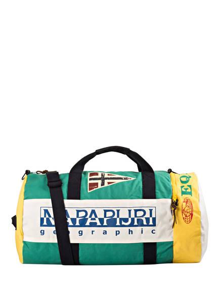 NAPAPIJRI Reisetasche EQUATOR, Farbe: WEISS/ GRÜN/ GELB (Bild 1)