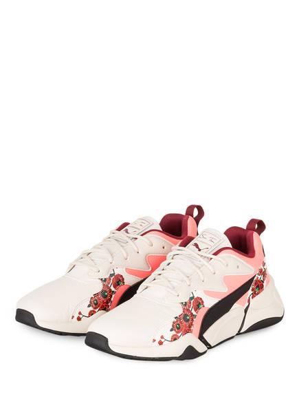 PUMA Sneaker NOVA CHERRY BOMBS, Farbe: CREME/ LACHS/ DUNKELROT (Bild 1)