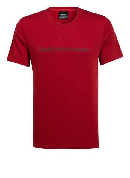 Peak Performance T-Shirt TRACK, Farbe: ROT (Bild 1)