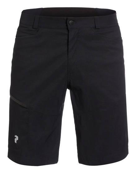Peak Performance Outdoor-Shorts ICONIQ, Farbe: SCHWARZ (Bild 1)