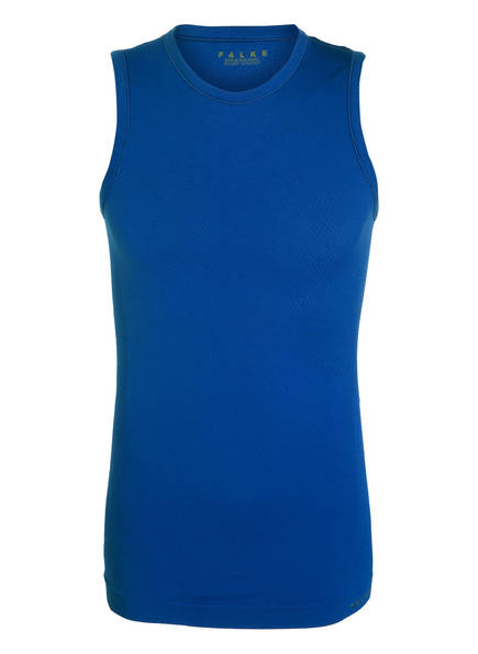 FALKE Funktionswäsche-Shirt SINGLET COOL, Farbe: BLAU (Bild 1)