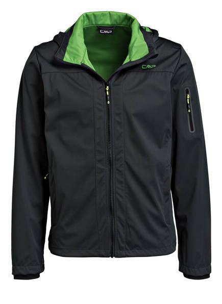 CMP Softshell-Jacke, Farbe: DUNKELGRÜN (Bild 1)