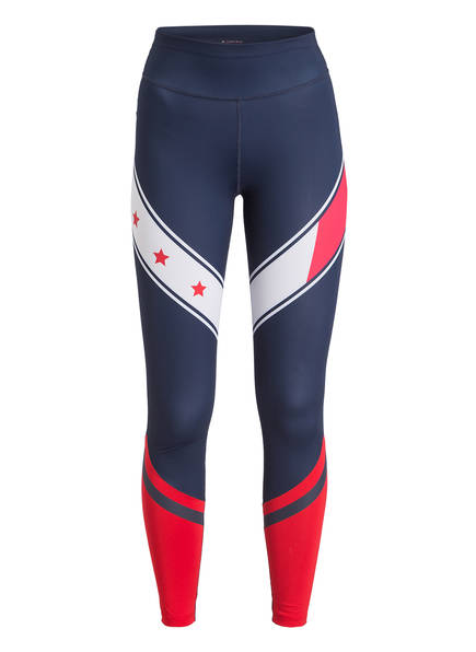 TOMMY HILFIGER Tights, Farbe: NAVY/ WEISS/ ROT (Bild 1)
