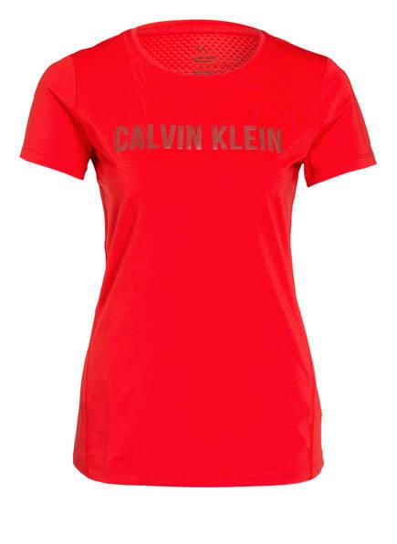Calvin Klein Performance T-Shirt, Farbe: ROT (Bild 1)