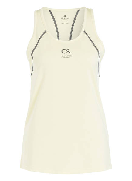 Calvin Klein Performance Tanktop , Farbe: HELLGELB (Bild 1)