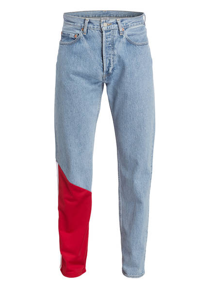 VETEMENTS Jeans , Farbe: LIGHT BLUE/ RED (Bild 1)