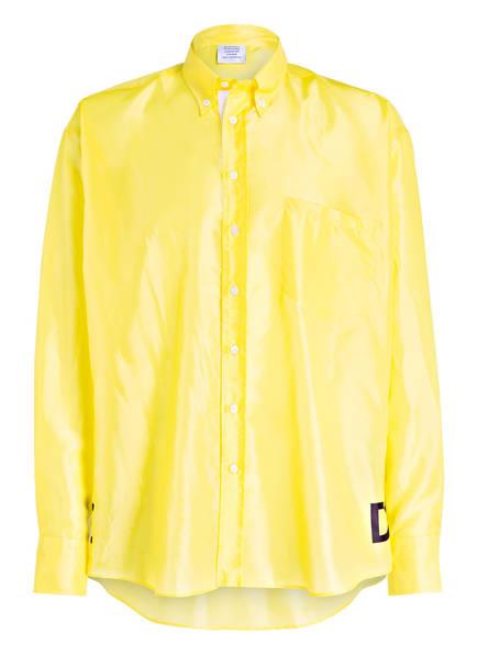 VETEMENTS Oversized-Hemd Comfort Fit, Farbe: GELB (Bild 1)