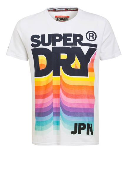 Weiss T Superdry shirt Superdry T qxw8IgzRW