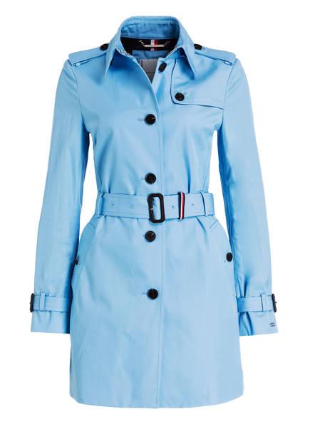 TOMMY HILFIGER Trenchcoat, Farbe: HELLBLAU (Bild 1)