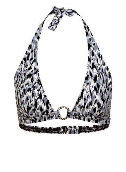 MICHAEL KORS Neckholder-Bikini-Top, Farbe: GRAU/ SCHWARZ (Bild 1)