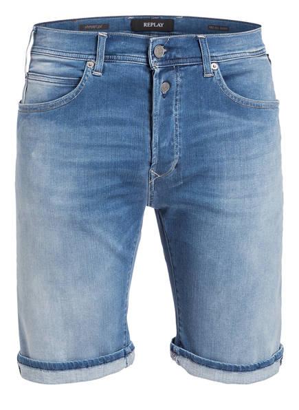 REPLAY Jeans-Shorts HYPERFLEX, Farbe: LIGHT BLUE (Bild 1)
