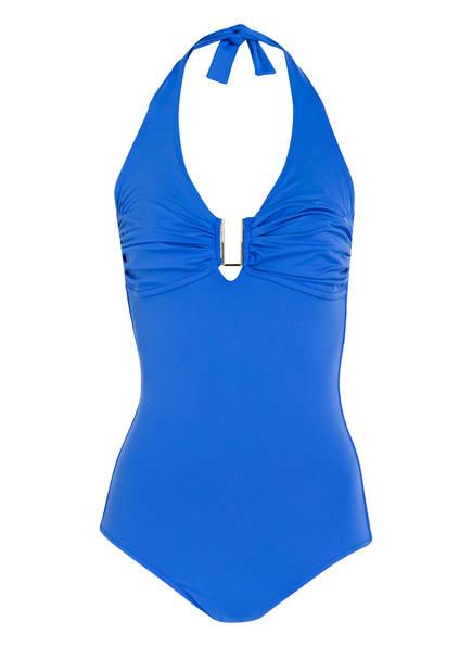 MELISSA ODABASH Neckholder-Badeanzug TAMPA, Farbe: BLAU (Bild 1)