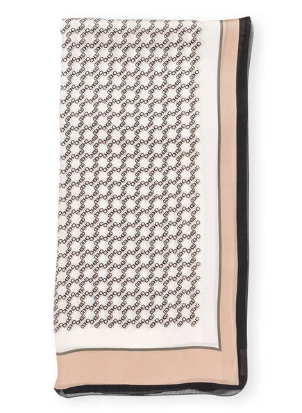 JIMMY CHOO Seidenschal , Farbe: OFFWHITE/ BEIGE (Bild 1)