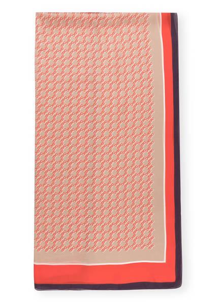 JIMMY CHOO Seidenschal , Farbe: ROT/ BEIGE/ LILA (Bild 1)