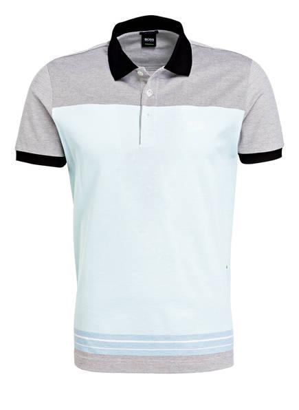 BOSS Piqué-Poloshirt PADDY 4 Regular Fit , Farbe: MINT/ SCHWARZ (Bild 1)