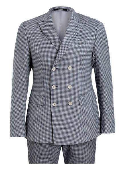 JOOP! Anzug HADIZ-BEAR Slim Fit, Farbe: BLAU/ CREME KARIERT (Bild 1)