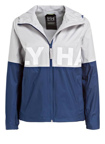 HELLY HANSEN Outdoor-Jacke AMUZE , Farbe: HELLGRAU/ DUNKELBLAU (Bild 1)