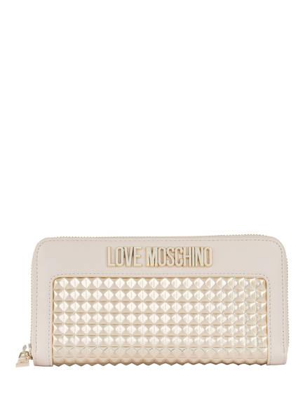 LOVE MOSCHINO Geldbörse, Farbe: CREME/ GOLD (Bild 1)
